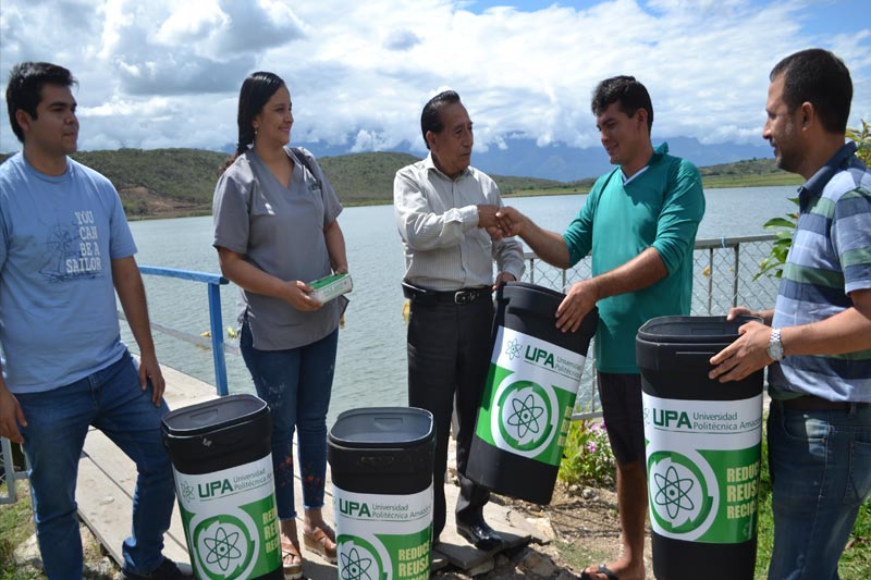Campaña de Limpieza y Donación de Recolectores de Desechos