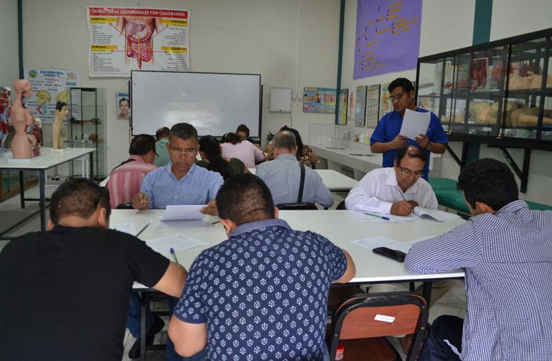 Examen médico de salud ocupacional pasaron trabajadores de la UPA-3