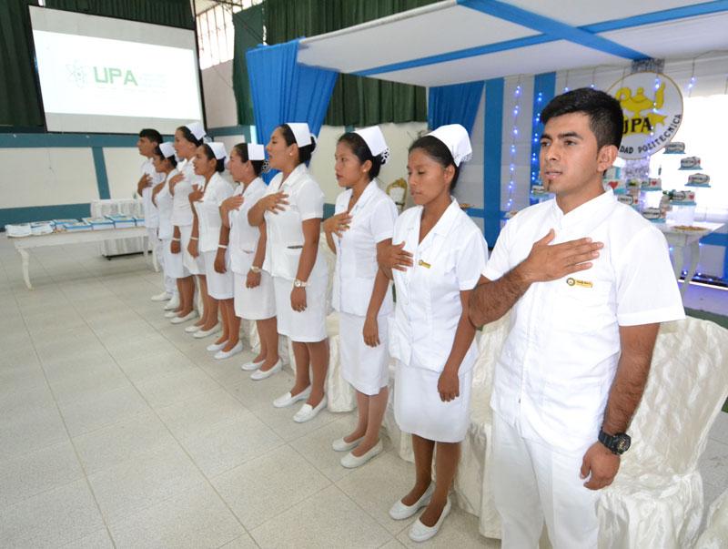 Ceremonia de pase a internado de enfermería-2
