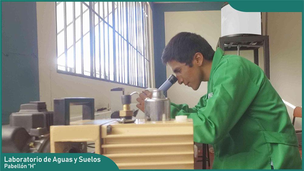 Carrera de Ingeniería Agronómica - Laboratorio de Agua y Suelos