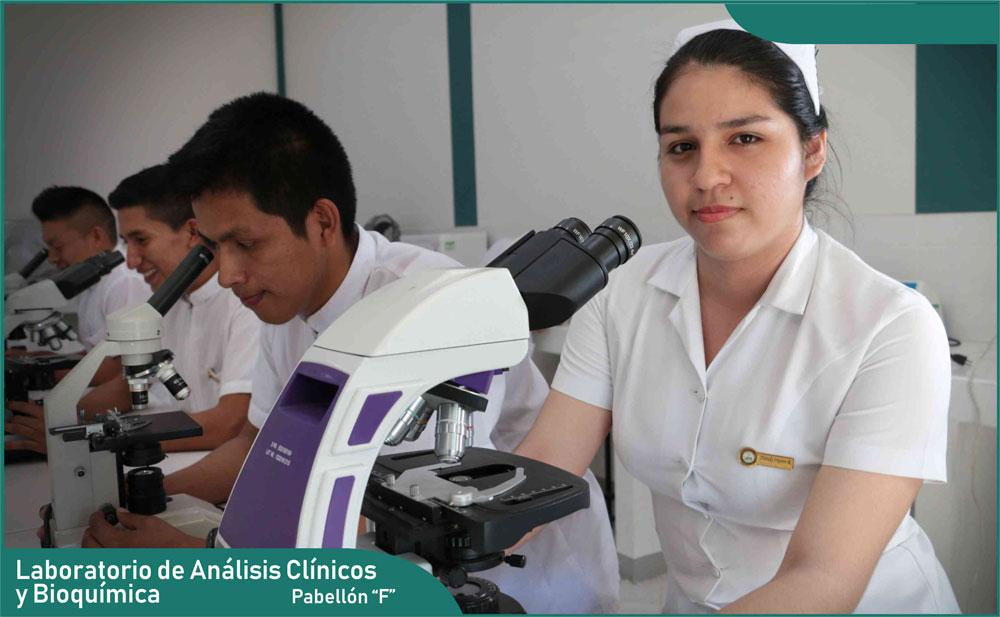 Carrera de Enfermería - Laboratorio de Análisis Clínicos y Bioquímica
