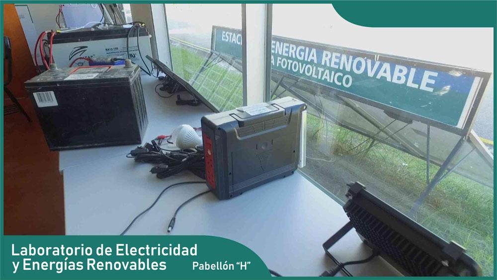 Carrera de Ingeniería Mecánica - Laboratorio de Electricidad y Energías Renovables