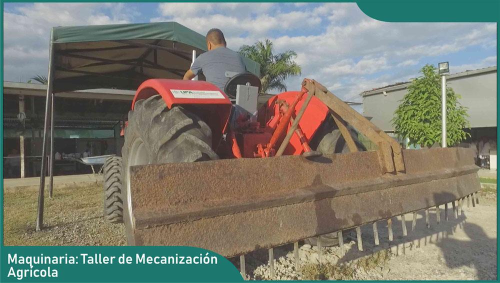 Carrera de Ingeniería Agronómica - Taller de Mecanización y Herramientas Agrícolas