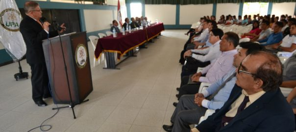 UPA Ceremonia de apertura del semestre académico 2019 – ii