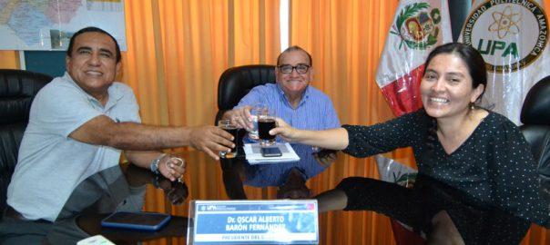 Congresista de la República Marita Herrera visita la UPA