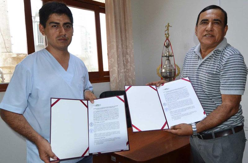 UPA y MINSA firman importante convenio interinstitucional