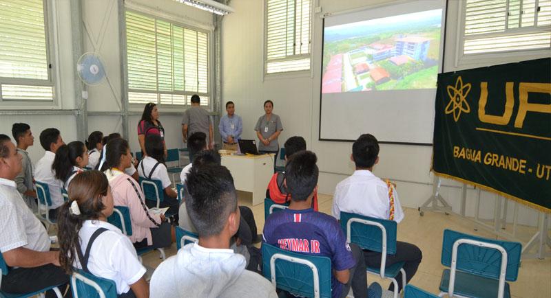 UPA - Orientación Vocacional a estudiantes de las diferentes IEs